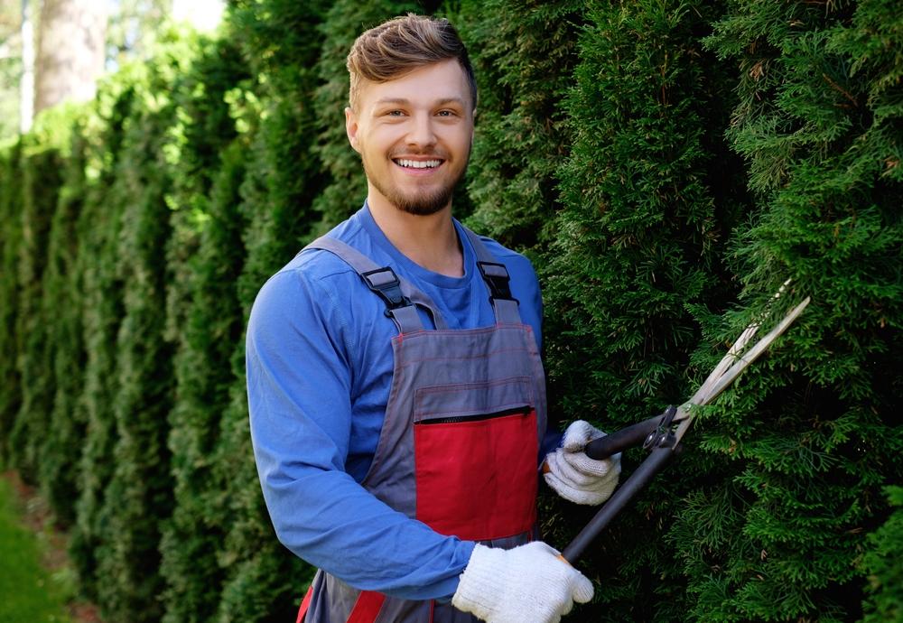 commercial gardener